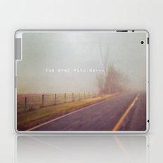 run away with me Laptop & iPad Skin