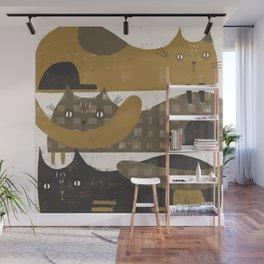 TRIPLE DECKER Wall Mural