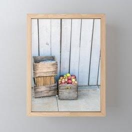 An Apple a Day Framed Mini Art Print