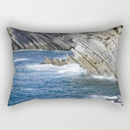 Million-Year Sculptures Rectangular Pillow