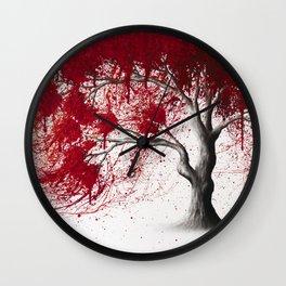 Western Iron Tree Wall Clock