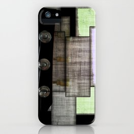 Headstock Exchange iPhone Case