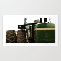 john green Art Prints featuring John Deere Green by Andrea Warren Photography
