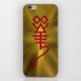 All Hail the Whispering God! iPhone Skin