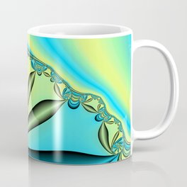 River Vine Fractal Coffee Mug