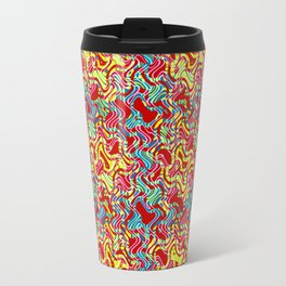 Polyp Red - Coral Reef Series 016 Travel Mug