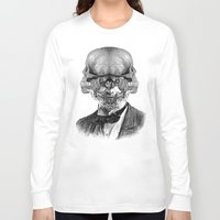 stormtrooper Long Sleeve T-shirts featuring Stormtrooper by DIVIDUS DESIGN STUDIO