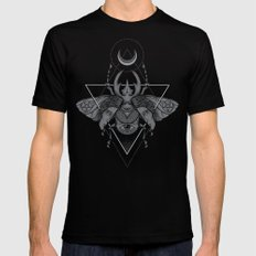 Occult Beetle Black Mens Fitted Tee LARGE