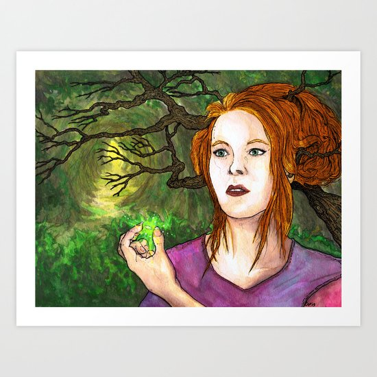 """Through the Woods"" by Cap Blackard Art Print"