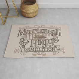 Murtaugh & Riggs Demolition Rug