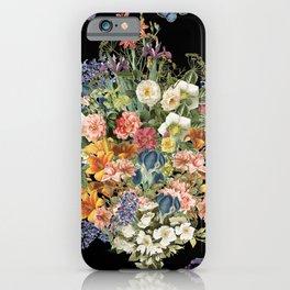 Lush Baroque Floral iPhone Case