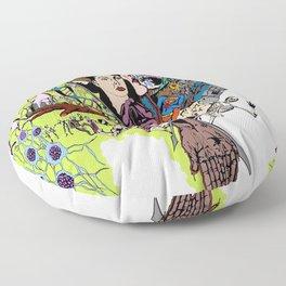 Amalgam of Oxidation Floor Pillow