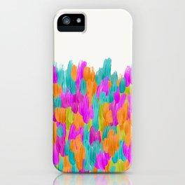 Lula Festive Abstract Brushstrokes iPhone Case