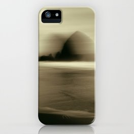 Cannon Beach Haystack Rock iPhone Case