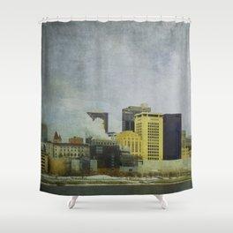 St. Paul Riverfront Shower Curtain