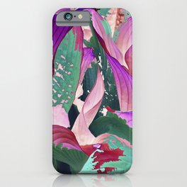 519 - Abstract Garden Design iPhone Case