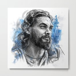 Jason Blue - TRR Series Metal Print
