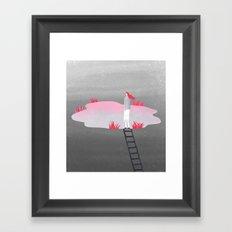 Top of mind Framed Art Print