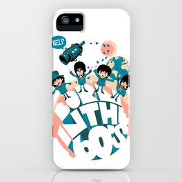Born in the 60's iPhone Case