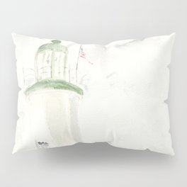 Morning at Scituate Lighthouse Pillow Sham