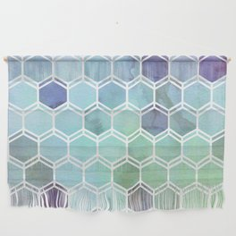 TWEEZY PATTERN OCEAN COLORS byMS Wall Hanging