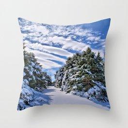 Pine Grove Throw Pillow