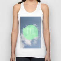 cloud Tank Tops featuring CLOUD by Jackson Todd