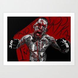 "Nate Diaz ""I'm not surprised!"" Art Print"