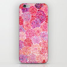 Watercolour Roses iPhone & iPod Skin