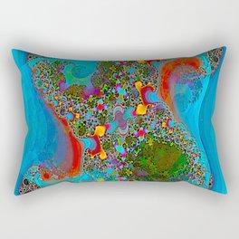 Abstract Topography Rectangular Pillow