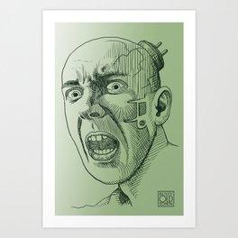 Techno Terror Art Print