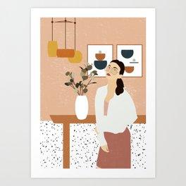 Dream Living Room Art Print