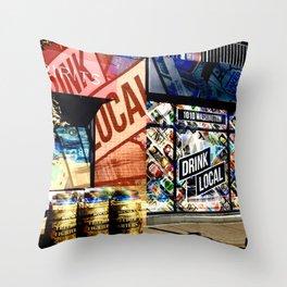 1010  Throw Pillow