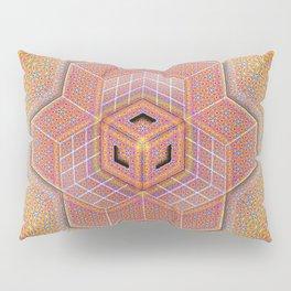 Flower of Life Tesseract Pillow Sham