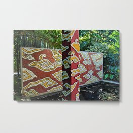 The Naples Botanical Garden II Metal Print