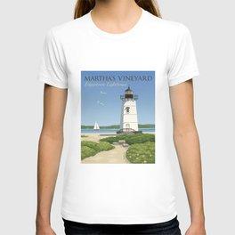 Martha's Vineyard Edgartown Lighthouse T-shirt