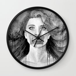 Liar Liar (Black&White Version) Wall Clock