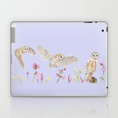Meadow Barn Owl Laptop & iPad Skin