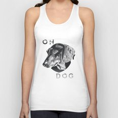 oh my dog ! Unisex Tank Top