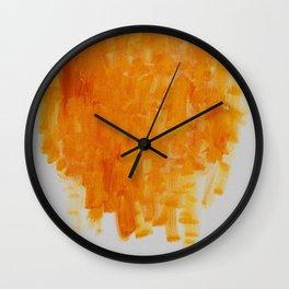 Buffalo Honey Wall Clock
