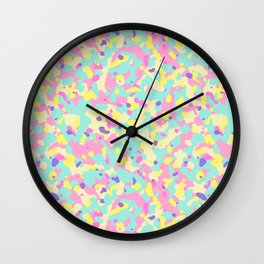 Let's go neon! (fluor) Wall Clock