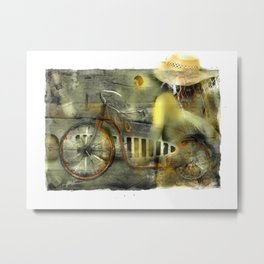 My Scooter Metal Print