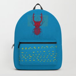 Stitches: Red stag Backpack