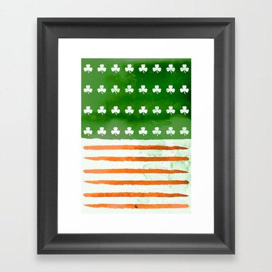 IrishAmerican Framed Art Print