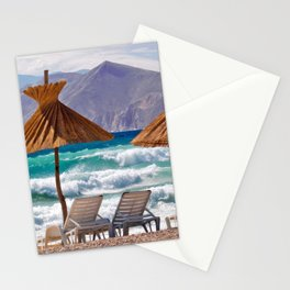 Wave Sea Stationery Cards