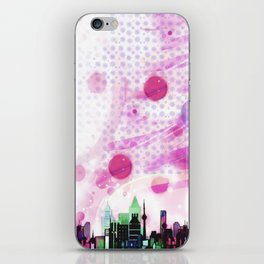 Bright Architecture and Snowflakes #3 iPhone Skin