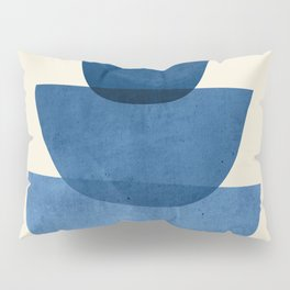 Abstract Shapes 37-Blue Pillow Sham