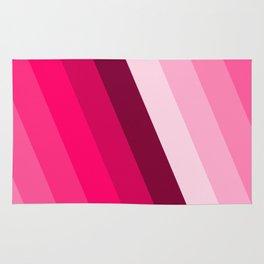 pink side fade pattern Rug
