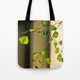 Leaflets In The Light Tote Bag