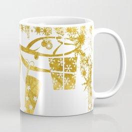 Gold Christmas 02 Coffee Mug
